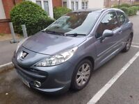 PEUGEOT 207 AUTOMATIC 2008 SUPER LOW MILEAGE FULL SERVICE HISTORY HPI CLEAR