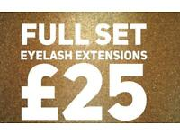 Semi Permanent Eyelash Extensions Redditch