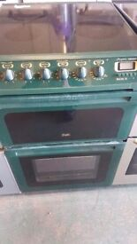 Green creda 55 cm ceramic cooker perfect working order and in good condition excellent cooker