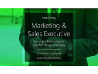 Hiring - Marketing & Sales Executive | Video & Design company