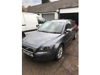 2007 56 Volvo S40 Saloon 1.8 se model Genuine 82k FSH Alloy wheels A/C