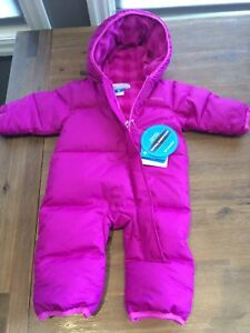 Columbia Bunting Suit (3-6 months) - BRAND NEW