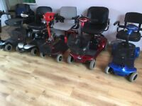 Mobility scooter. Choice of used boot size scooters from £200