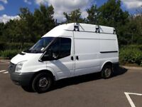 Ford Transit, High Top, MWB. 2009. Full year MOT. Rear Wheel Dr. with roof rack and small roller bar