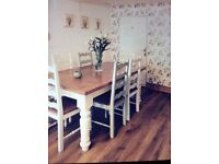 Bespoke wooden dining chairs
