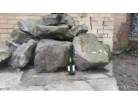 Rockery rocks, water feature, garden orament, stone