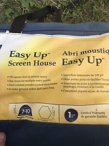 Easy up screen tent/ dining tent