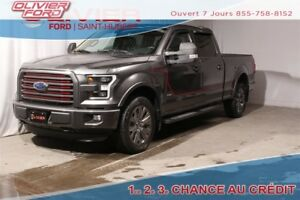 2016 Ford F-150 Lariat AWD 4X4 NAV CAMERA TOIT MAGS A/C