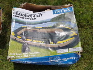 4 person Seahawk inflatable boat