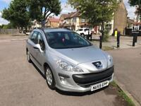 PEUGEOT 308 1.6 HDI 110 S 5dr (silver) 2009
