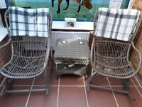 Grey Rocking Chairs