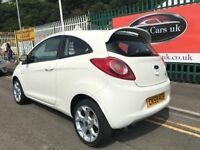 2009 (59 reg) Ford KA 1.2 Style + 3dr Hatchback 5 Speed Manual Petrol Low Miles Top Spec!