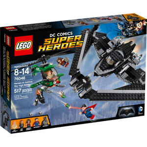 LEGO 76046 Super Heroes Heroes of Justice: Sky High Battle NISB