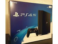 PS4 PRO 1TB, with registered SONY warranty