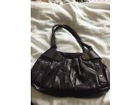 Fantastic condition, deep purple/plum Fiorelli handbag