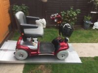 Heavy Duty Sterling Sapphire Mobility Scooter Any Terrain-Brand New Batteries-18 Stone Capacity-£475