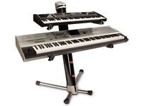 Ultimate Apex AX-90 Column Keyboard Stand + Gig Bag.