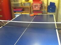 Lion Outdoor Junior Playback table tennis table