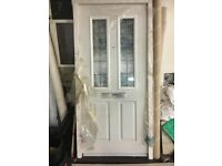 External heavy doors brand new