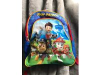 Paw patrol back pack