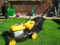 Petrol mower only used 3 times perfect condition