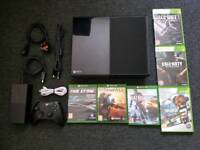 XBOX ONE with SIX GAMES