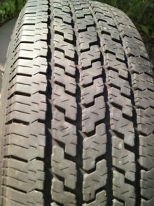 One Good used All Season Tire P 215 /75 R15 100S