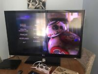 LG 47 inch LED 3D led TV and Sony blu ray player and 3d films