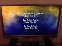 Led TV built in DVD-can Deliver£40