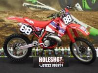 Honda CR 250 88/89 EVO MOTOCROSS BIKE