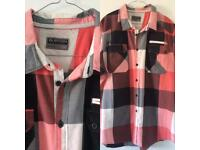 Men's Burton 2XL Short Sleeve Checked Shirt Ideal For Summer smoke & pet free home