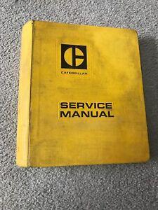 Caterpillar shop manual for a D3 bulldozer