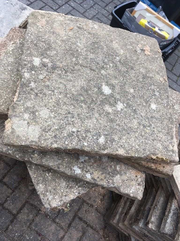 18 x 18 used grey slabsin Acocks Green, West MidlandsGumtree - 18 x 18 used grey slabs. £1 each (approximately 180 altogether) collection Solihull