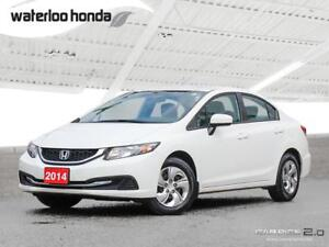 2014 Honda Civic LX Sold Pending Customer Pick Up...Only 23,2...