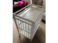 Excellent changing table - Ikea Gulliver - bargain!