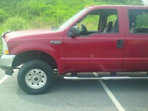 2003 Ford F-250 alunimun rims Pickup Truck body mans special