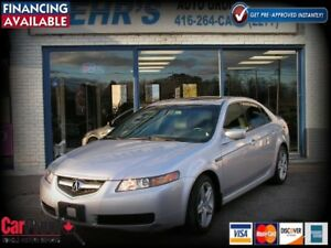 2004 Acura TL Leather Sunroof No Accident Well Maintained