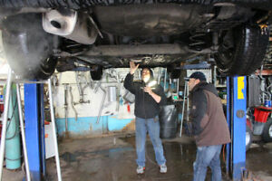 Are you looking for muffler parts? call us! (514) 721 5191