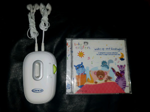 Prenatal heartbeat monitor and music cd