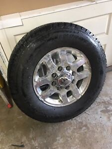 Gmc / chevy 8 bolt rims and winter tires
