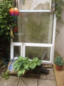Free to collector: large double glazed window. 160cm (w) x 135cm (h)