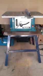 Table Saw  -  10 inch - w/ stand