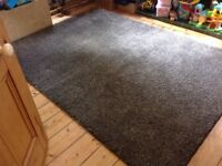 "Ikea Adum Brown Rug 170 x 240 cm ( 5'7"" x 7'10"") as new."