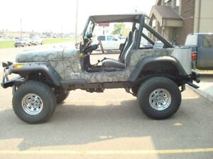1984 jeep cj7 350 chevy