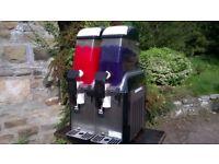 Twin Commercial Slushy Ice Drinks Machine Slush Puppie Catering Cafe