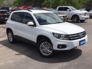 2016 Volkswagen Tiguan Comfortline BLUETOOTH! BACKUP CAMERA!...