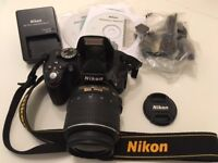NIKON 5100 DSLR Camera like new.