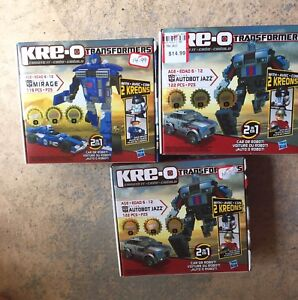 KREO TRANSFORMERS SETS BRAND NEW
