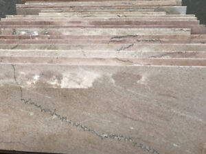 """20 Thick Marble Slabs (35"""" x 10"""" x 1-1/4"""")"""