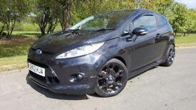 Ford Fiesta 1.6 Metal 3dr FULL LEATHER + FSH + BLUETOOTH